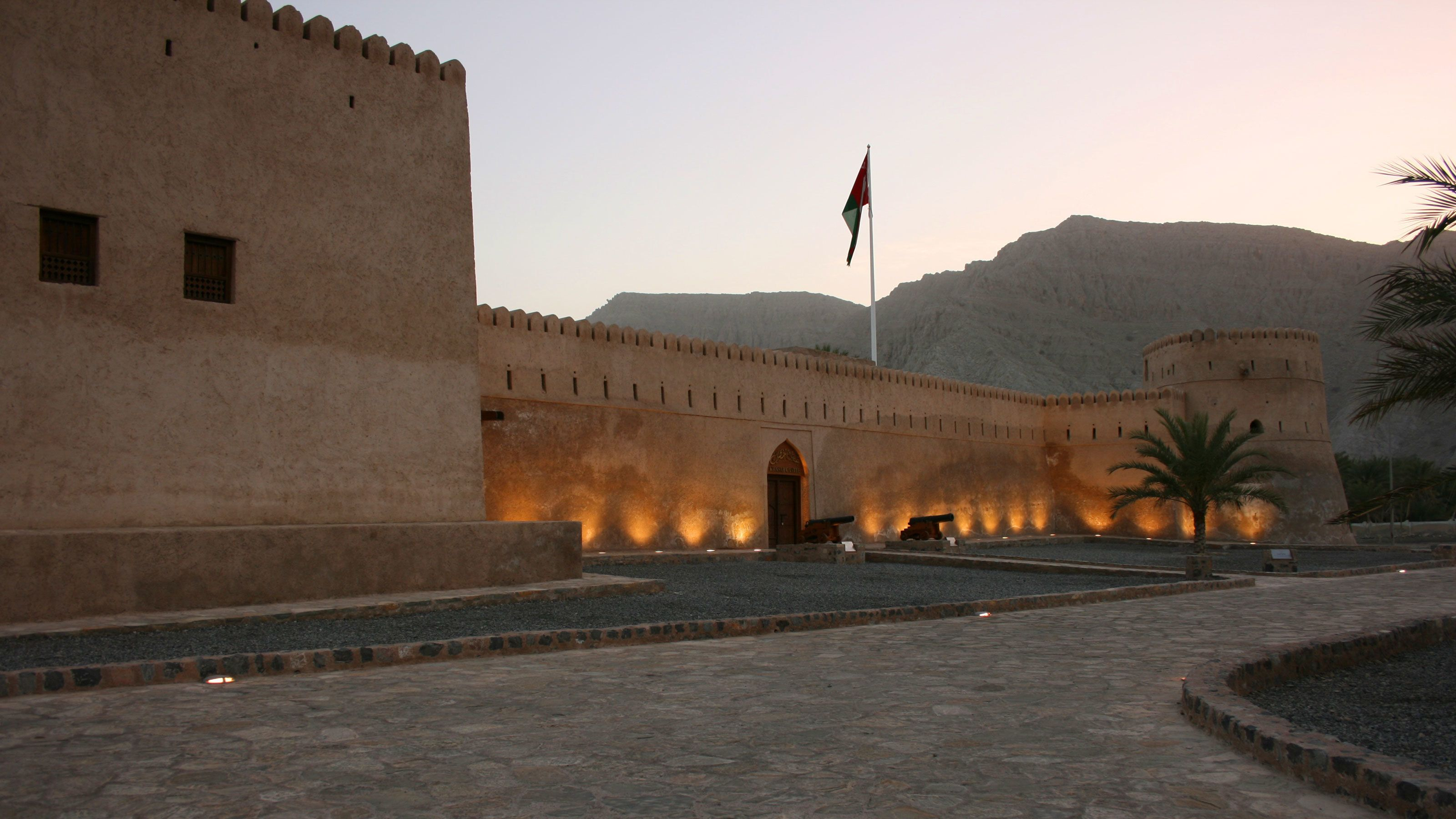 Arabian style building in Musandam