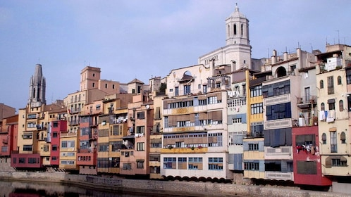 colorful building in Figueres Girona, in Barcelona