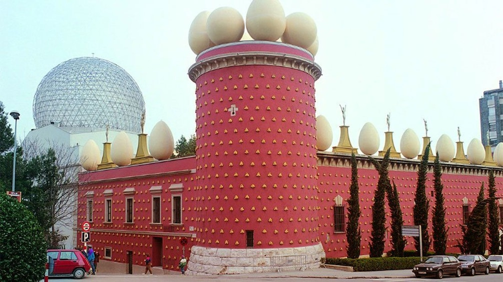 Salvidor Dalí Theatre and Museum in Barcelona