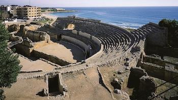 Visita por Tarragona y la mediterránea Sitges en grupos pequeños