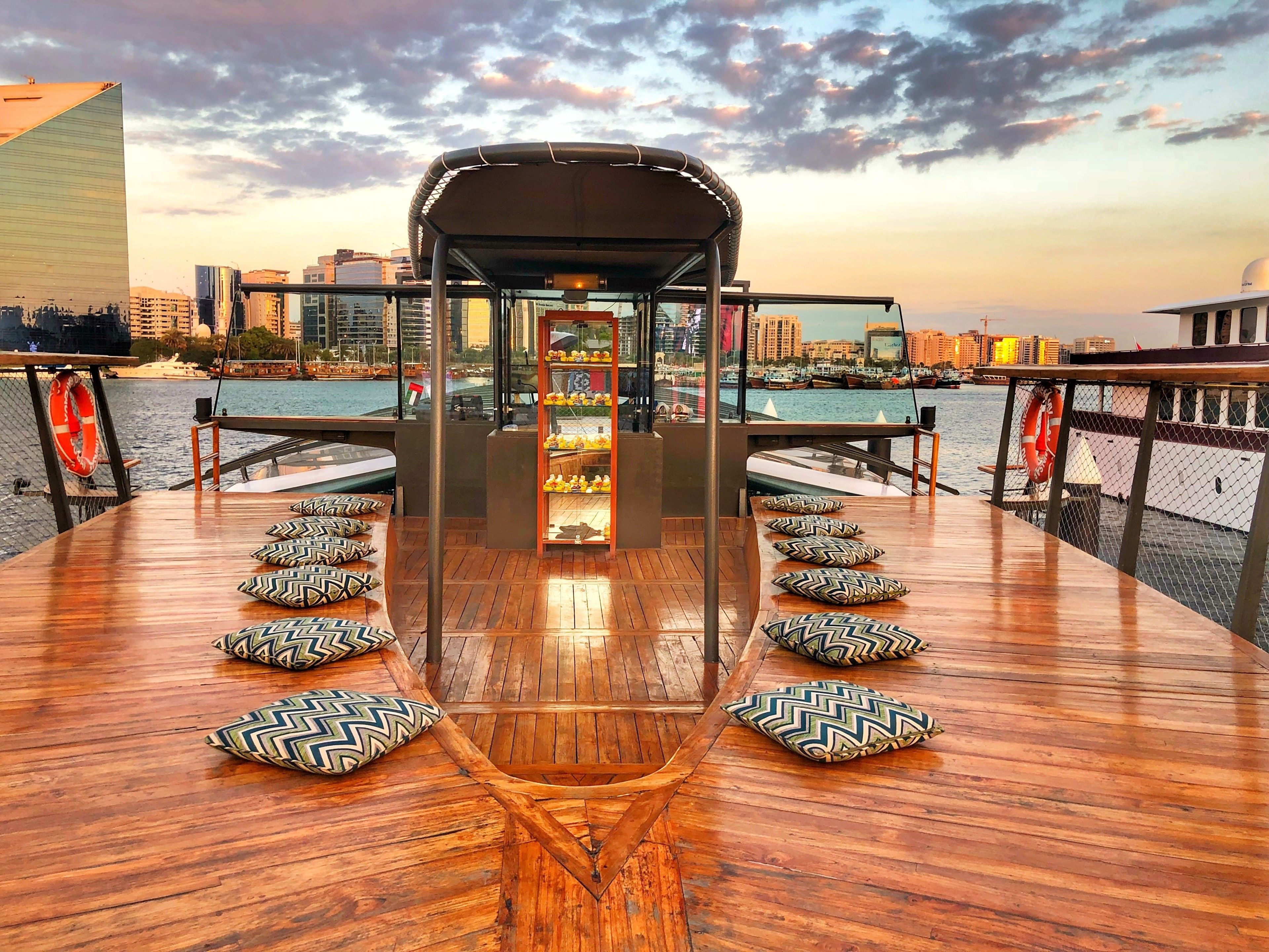 Bateaux Dubai Luxury Dinner Cruise - upper deck.jpg