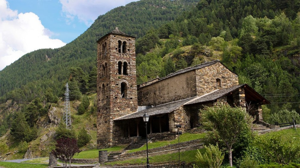 Apri foto 5 di 5. Sant Joan de Caselles. Romanesque church in Andorra, Spain