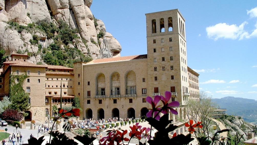 Charger l'élément 1 sur 5. Santa Maria de Montserrat Abbey in Montserrat, Spain