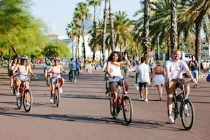 Stadstur av Barcelona på cykel