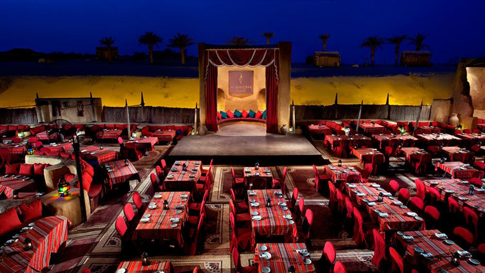 Dinner at Al Hadheerah Desert Restaurant and Live Show