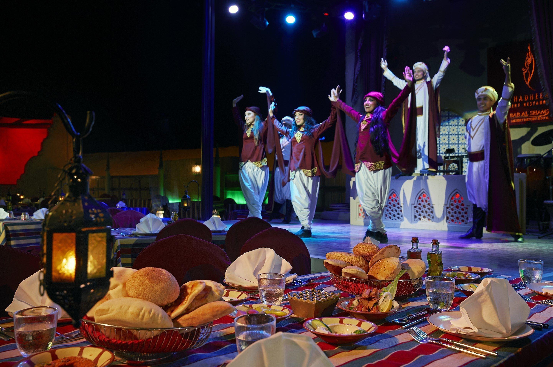 Dinner At Bab Al Shams Al Hadheerah Desert Restaurant
