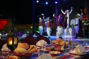 Souper au Bab Al Shams Al Hadheerah Desert Restaurant