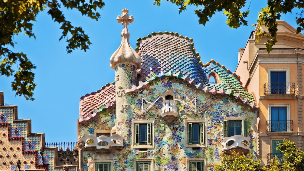 Öppna foto 2 av 5. Casa Batlló Building in Barcelona, Spain