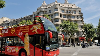 Hop-on, hop-off-bustour door Barcelona