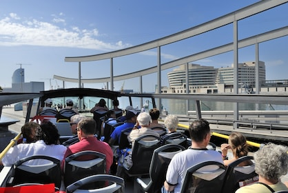 Open air tour bus in Barcelona
