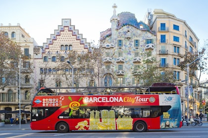 Barcelona City Tour bus