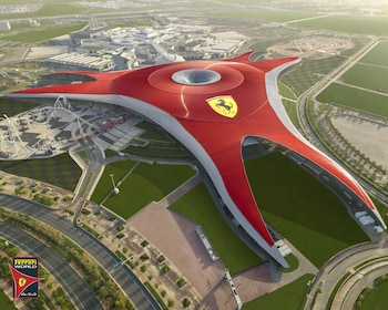 Abu Dhabi Ferrari World Tickets