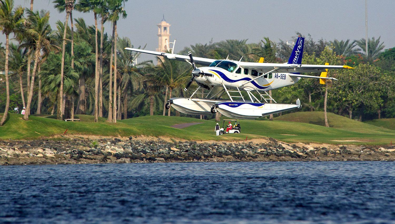 Seawings seaplane experience of Dubai