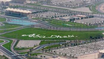 Seaplane flight to Abu Dhabi & Ferrari World Experience