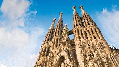 Sagrada Fami?lia church in Barcelona