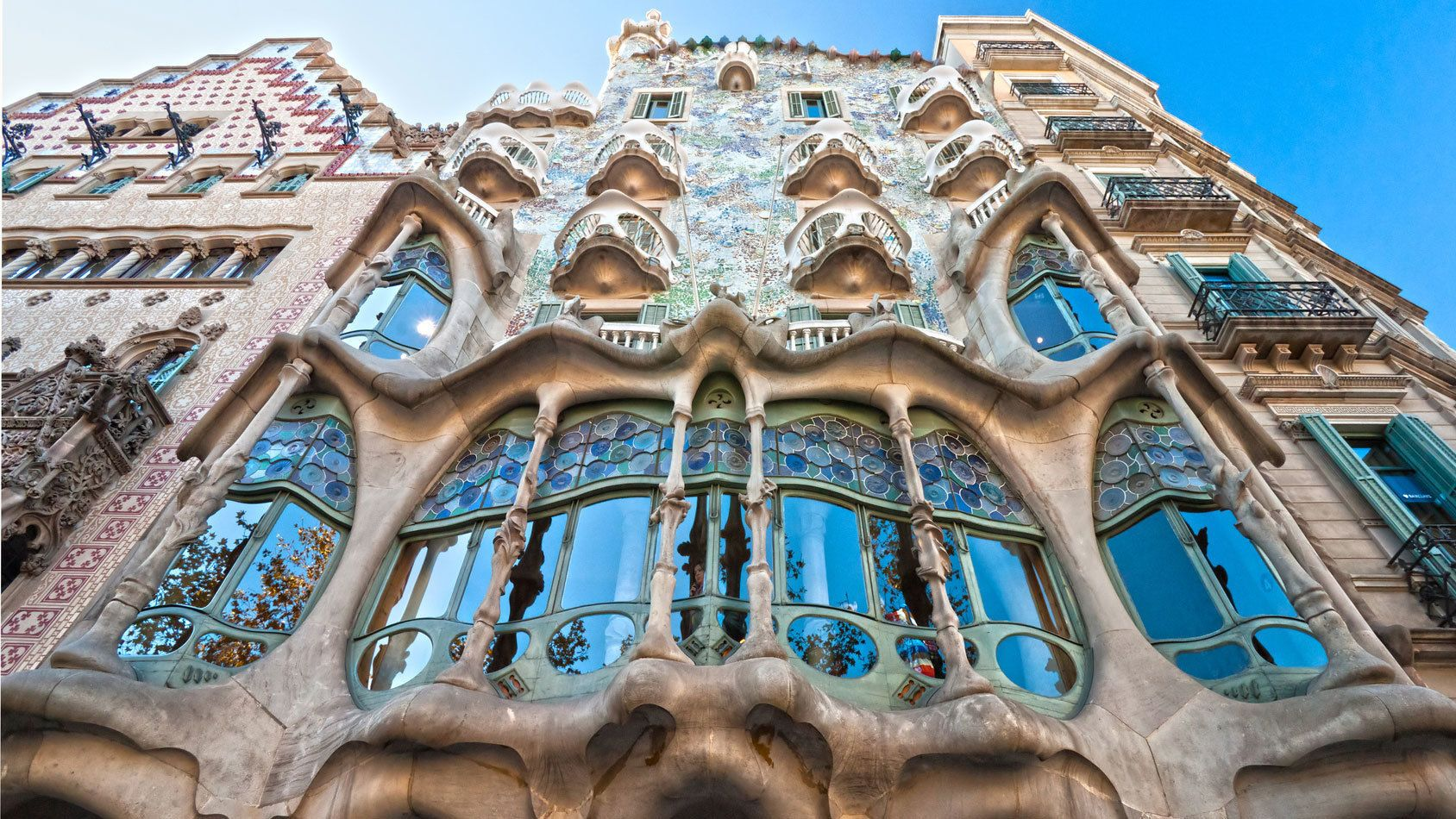 window detail at Casa Batllo? in Barcelona
