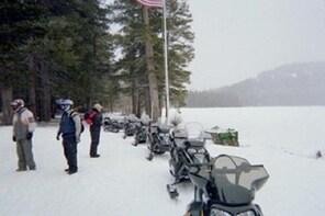 Hot Air Balloon & Snowmobile Adventure