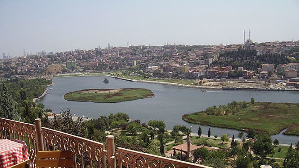 Lanscape view of Istanbul during the day