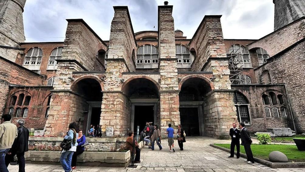 Show item 3 of 5. Buttresses Hagia Sophia in Istanbul