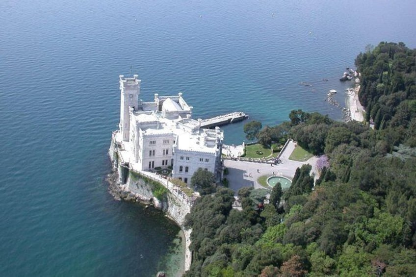 Show item 3 of 5. Panoramic Tour of Trieste and Miramare Castle