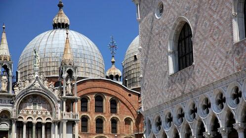 Saint Mark's Basilica in Venice Italy