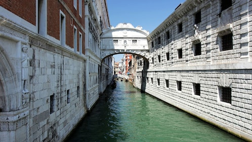 Bridge of Sighs an Arch bridge in Venice Italy
