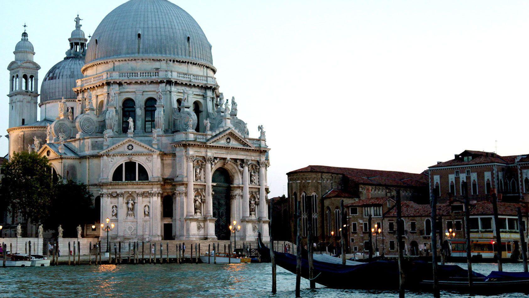 Santa Maria della Salute Basilica in Venice Italy