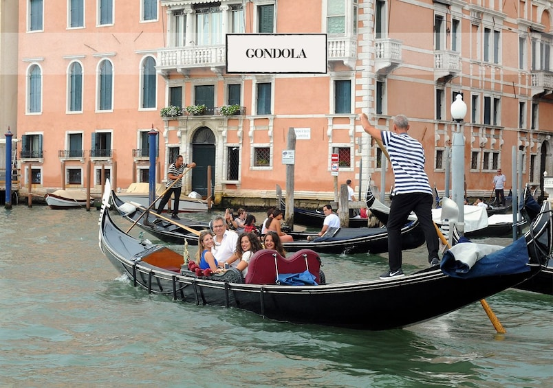 Show item 1 of 10. Venice: Grand Canal by Gondola with Commentary