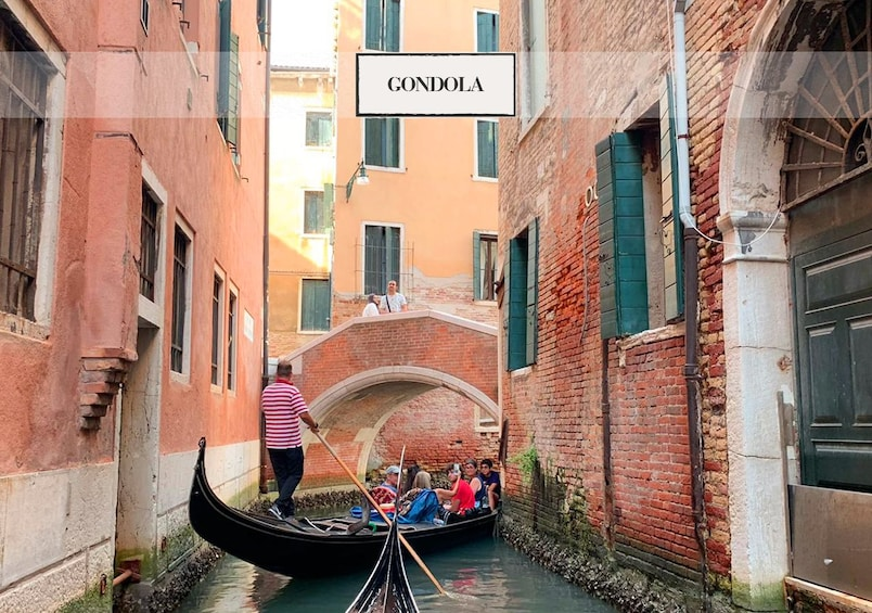 Show item 3 of 10. Venice: Grand Canal by Gondola with Commentary