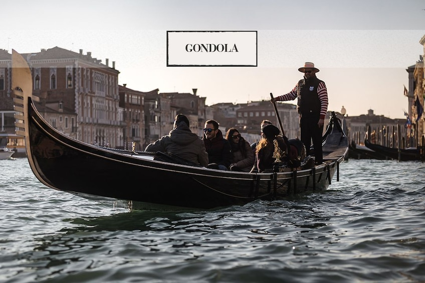 Show item 10 of 10. Venice: Grand Canal by Gondola with Commentary