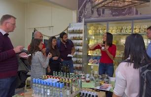Visite à pied en petit groupe autour de la cuisine d'Athènes