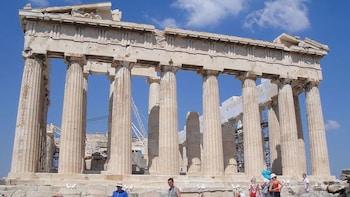 Visite à pied sans file d'attente de l'Acropole et d'Athènes, en petit grou...