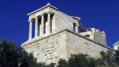 The Temple of Athena Nike in Athens