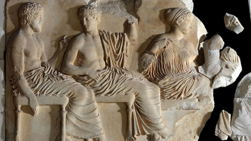 Parthenon Marbles at the Acropolis Museum in Athens