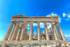Koko päivän kiertomatka Ateenaan ja Sounionniemelle ja lounas
