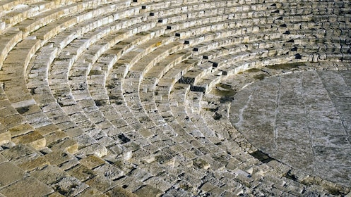 Steps of an ancient Greek stadium