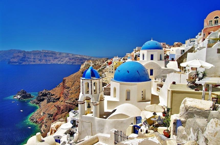 Charger l'élément 1 sur 10. 2-Day Santorini Island Trip from Athens