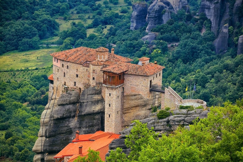 Show item 1 of 10. 2-Day Delphi, Meteora & Majestic Rocks Trip from Athens