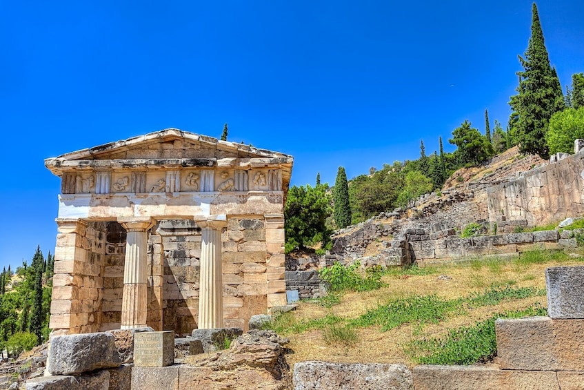 Show item 3 of 10. 2-Day Delphi, Meteora & Majestic Rocks Trip from Athens