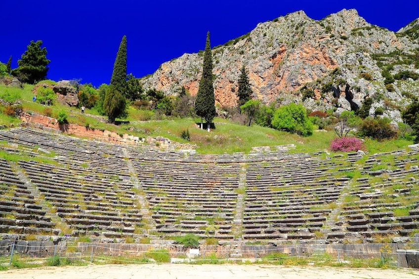 Show item 2 of 10. 2-Day Delphi, Meteora & Majestic Rocks Trip from Athens