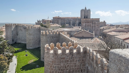 Avila houses in Spain