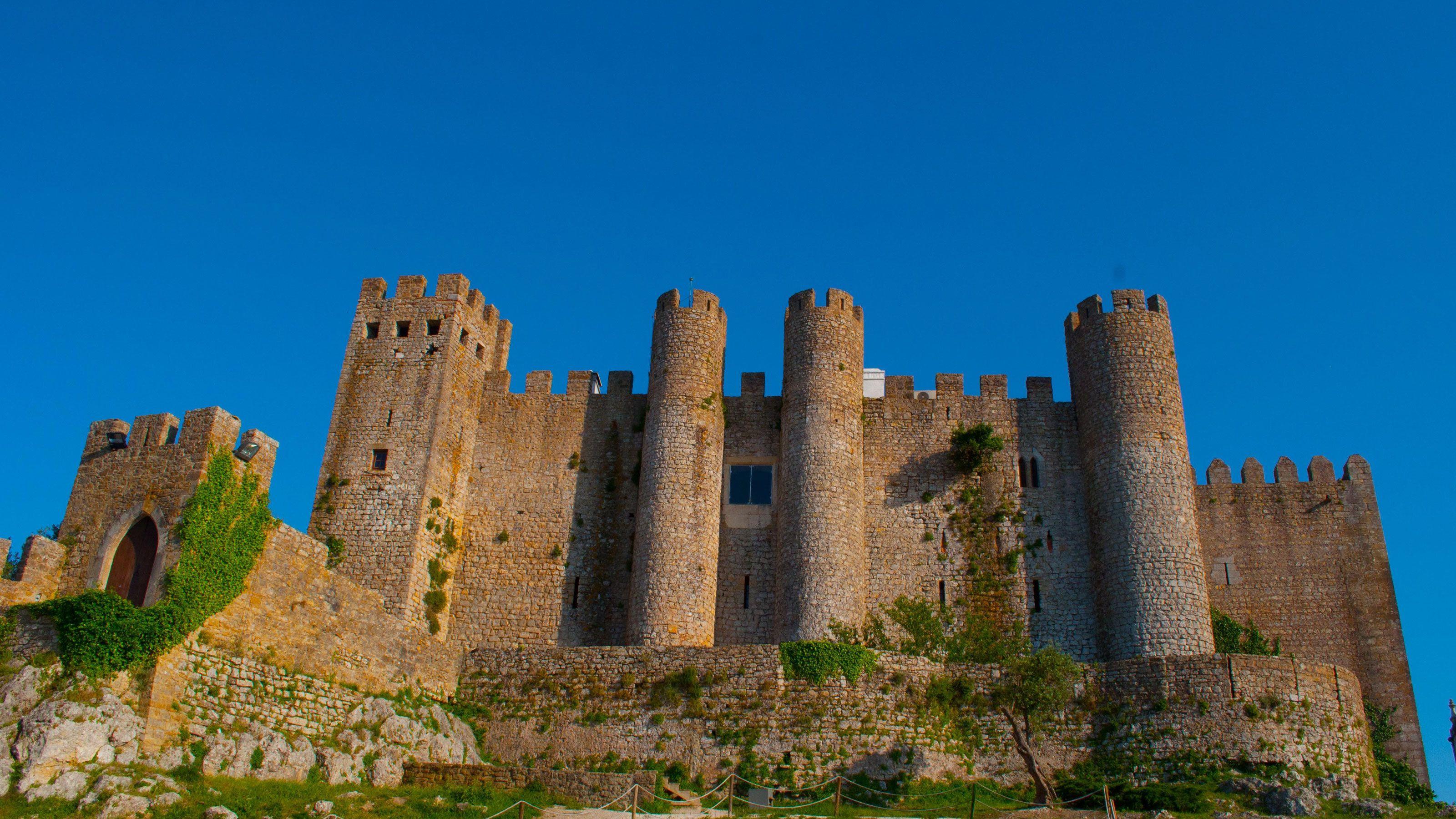Castle in Obidos, Portugal