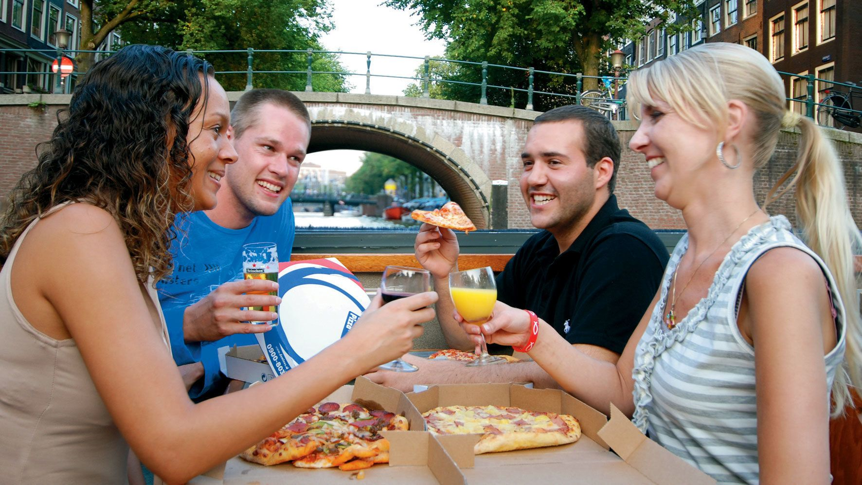 Pizza Cruise with Drinks & Optional Heineken Experience