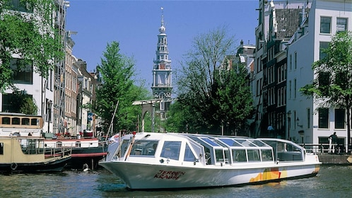 cruise boat in Amsterdam