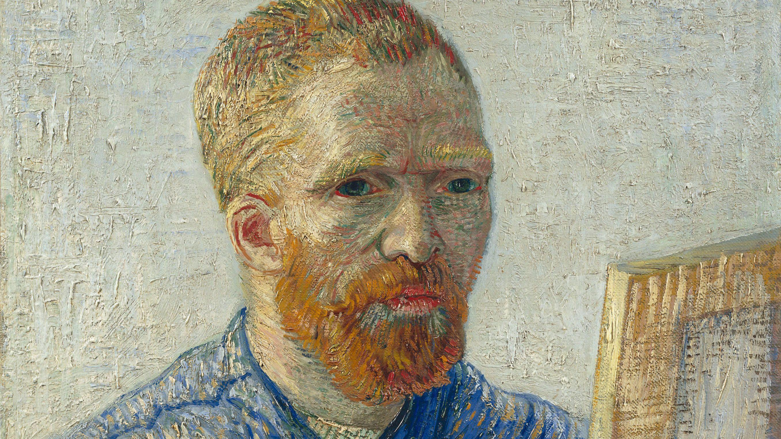 Van gogh painting in amsterdam