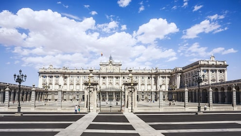 Panoramic view of the Royal Palace of Madrid
