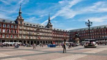 Madrids höjdpunkter – halvdagstur
