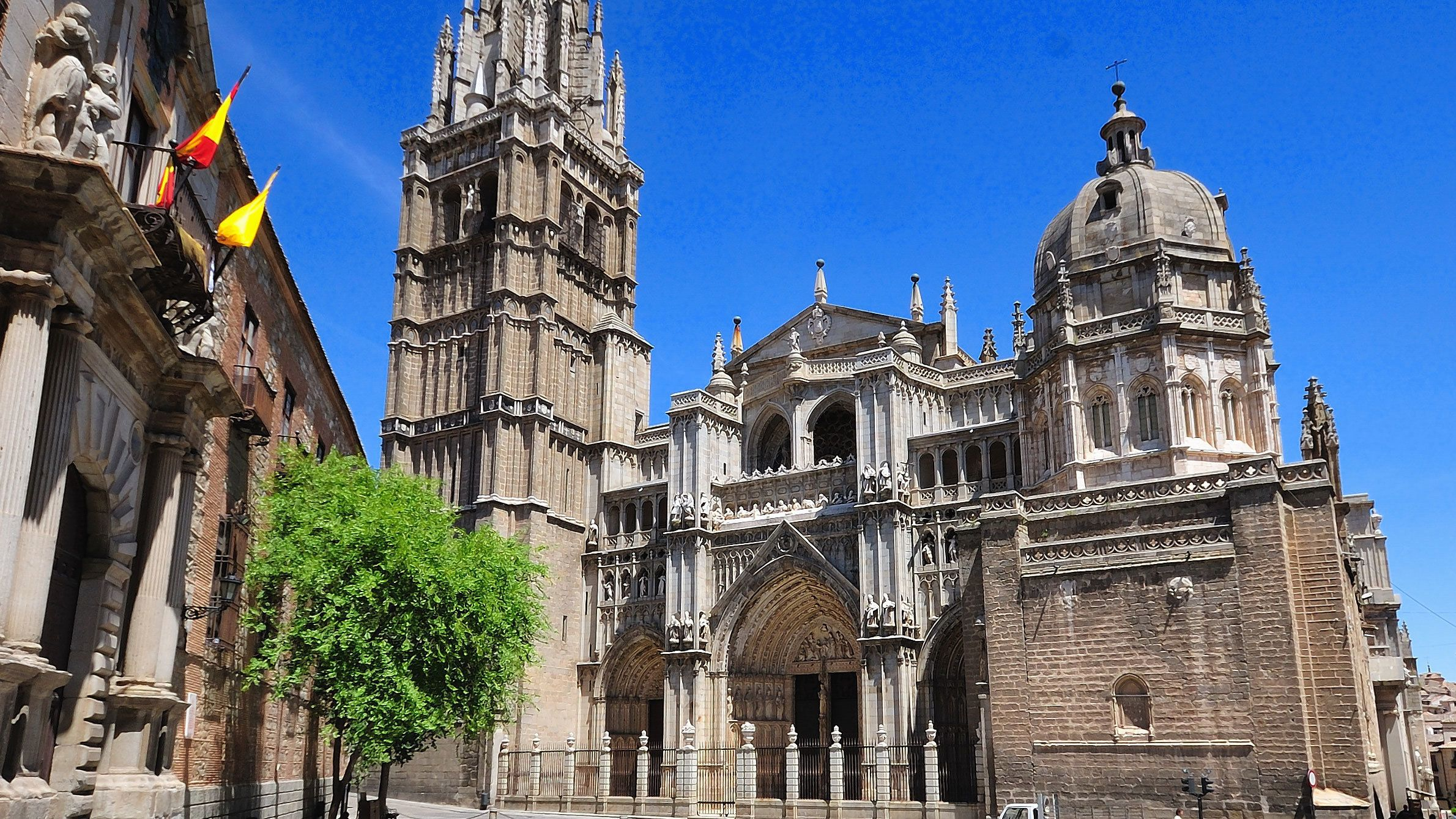 View of the Toledo Cathedral in Spain