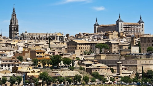 Toledo skyline view in Spain
