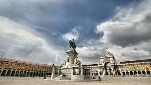 Black Horse Square in Lisbon